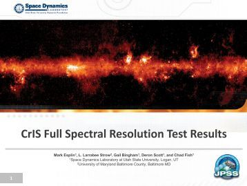 CrIS Full Spectral Resolution Test Results - GOES-R
