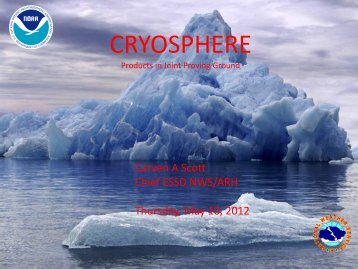 CRYOSPHERE - GOES-R