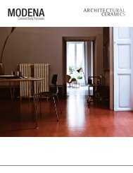 MODENA - Architectural Collections