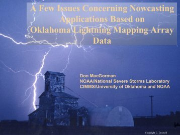 Status and Plans for the Oklahoma Lightning Mapping Array - GOES-R