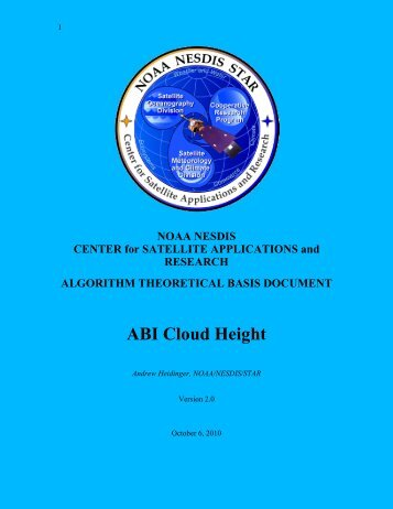 Cloud Mask ATBD - GOES-R