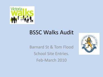 BSSC Walks Audit - Victoria Walks