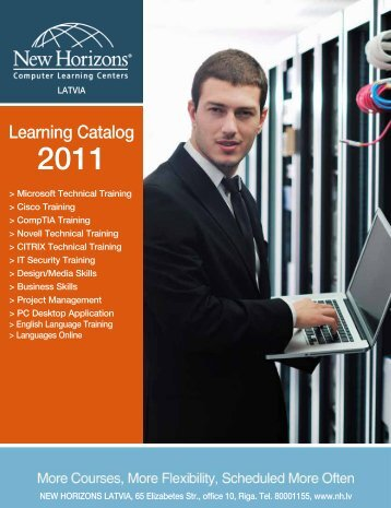 Learning Catalog - New Horizons