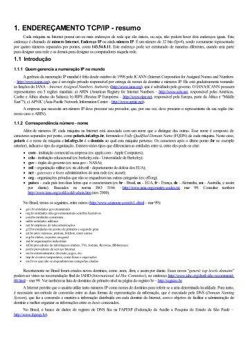 Redes TCP/IP - Unisinos