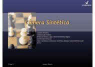Projeção e câmera sintética 2 - Unisinos