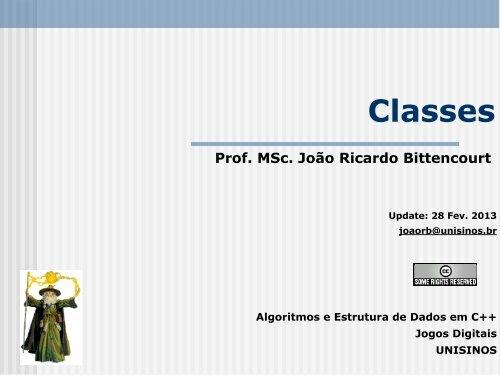 Classes - Unisinos