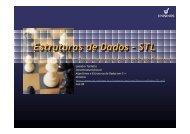 Estruturas de dados com STL - Unisinos