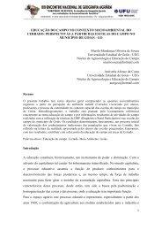 EDUCAÇÃO DO CAMPO NO CONTEXTO ... - LAGEA
