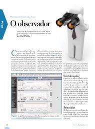 O observador - Linux Magazine