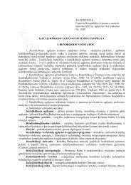 Katalikiškojo ugdymo sistemos samprata - Panevėžio Kazimiero ...