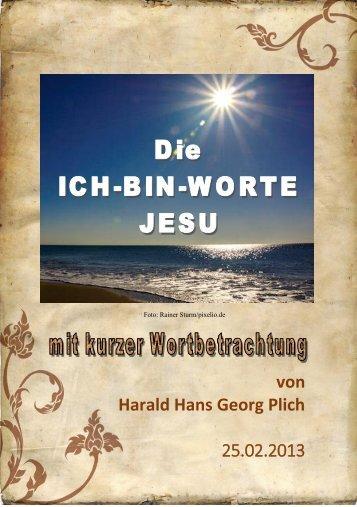 Die Ich-bin-Worte Jesu