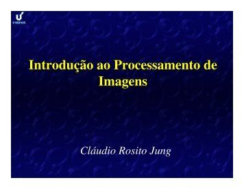 Palestra PI / C.R.Jung - Unisinos