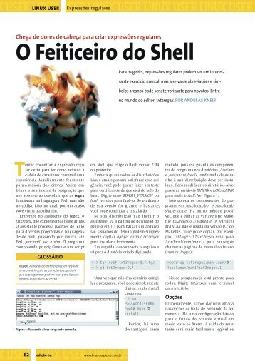 O Feiticeiro do Shell - Linux New Media
