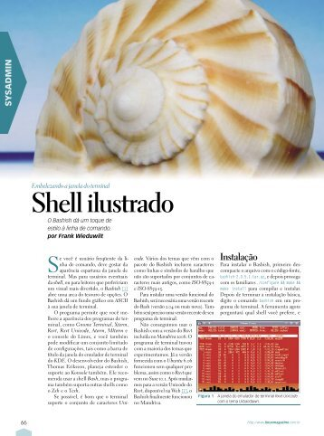 Shell ilustrado - Linux New Media