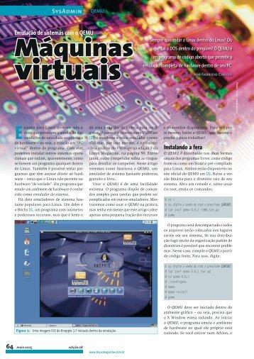 Máquinas - Linux New Media