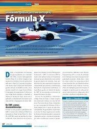 Fórmula X - Linux Magazine