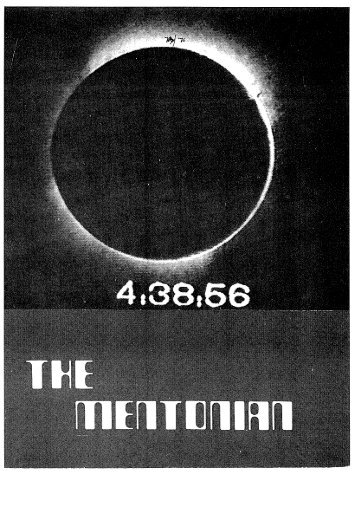 1976 - Mentone Grammar