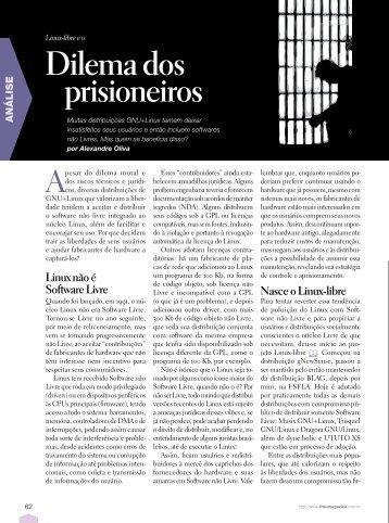 Dilema dos prisioneiros - Linux New Media