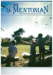 1986 - Mentone Grammar