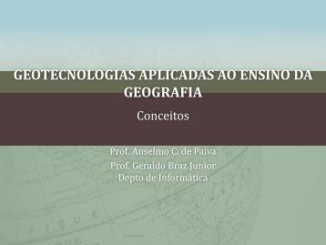 geotecnologias aplicadas ao ensino da geografia - DEINF/UFMA