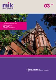 Berliner Missionsbuchhandlung - Musik in Kirchen
