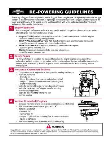 briggs stratton vangaurd series air cooled ohv v twin engine repair manual download pdf