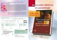 La nouvelle référence en parasitologie - ISHAM