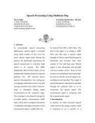 Communication System Design Using DSP Algorithms - DSP-Book