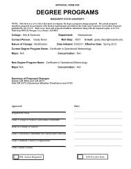 approval form for - Department of Geosciences - Mississippi State ...