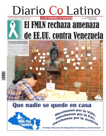 Edición 14 de Marzo de 2015