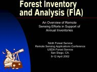 Forest Inventory and Analysis (FIA)