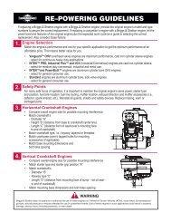 272144 Vanguard Twin Cylinder OHV BRIGGS & STRATTON pdf