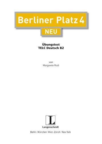 berliner platz 3 langenscheidt unterrichtsportal. Black Bedroom Furniture Sets. Home Design Ideas