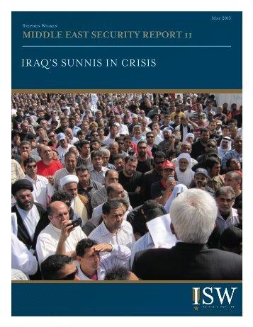 Wicken-Sunni-In-Iraq