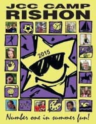 2015 JCC Summer Camp Rishon