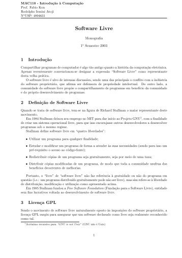 Arquivo PDF - Rede Linux IME-USP