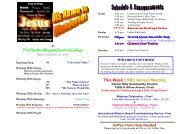 October 24, 2010 - Sunday Service - First Southern Baptist Church ...