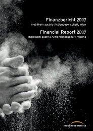 Finanzbericht Financial Report - mobilkom austria