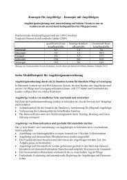 Projekte für Angehörige - IG-Pflege