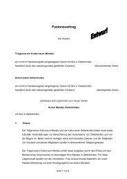 Fusionsvertrag - Marabu