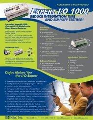 EXPERT I/O 1000 - Clarke & Severn Electronics