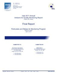 2011 Ambient Air Quality Monitoring (AAQM) Report - Vale.com