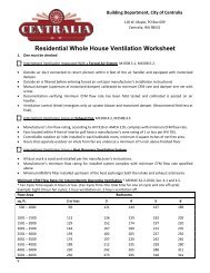 Review of Literature Related to Residential Ventilation Requirements