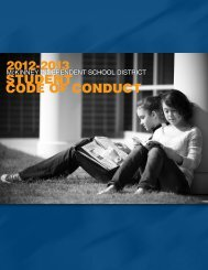 student COde OF COnduCt - McKinney Independent School District