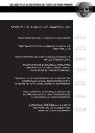 NSCLC - quadri clinici particolari - Associazione Italiana Oncologia ...