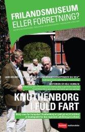 KNUthENboRg I FULD FARt Skarp sans for fornyelse! - Realdania Debat