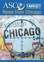 News from Chicago - Associazione Italiana Oncologia Toracica
