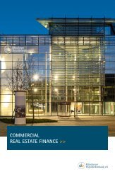 commercial real estate finance - Münchener Hypothekenbank eG