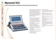 Myomed 932 - STOLL Medizintechnik GmbH