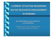 current situation regarding water resources management in ... - inweb